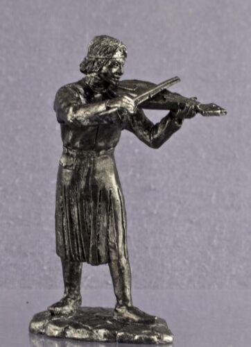 Zinnfigur Mw-9 54mm. Jahrhunderts Der Musiker des 12 model 1//32