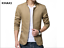 NEW-Men-039-s-Jacket-Slim-Fit-Collar-Cotton-Coat-Fashion-Casual-Outwear-Jacket-Coats thumbnail 7
