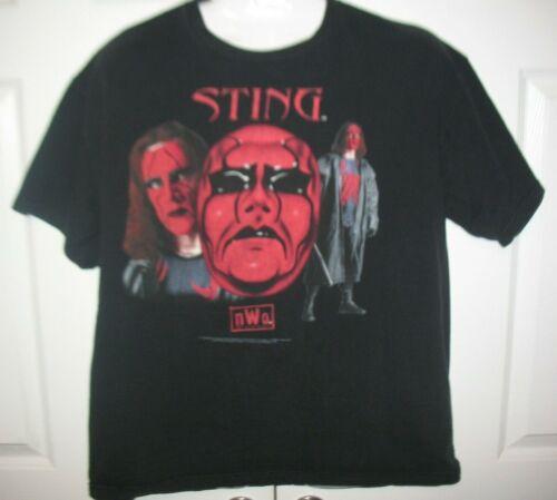 WCW 1998 Vintage Sting NWO Red Face Wrestling T-Sh
