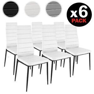 Pack-6-sillas-de-comedor-modernas-silla-cocina-diseno-en-Blanco-Negro-y-Gris