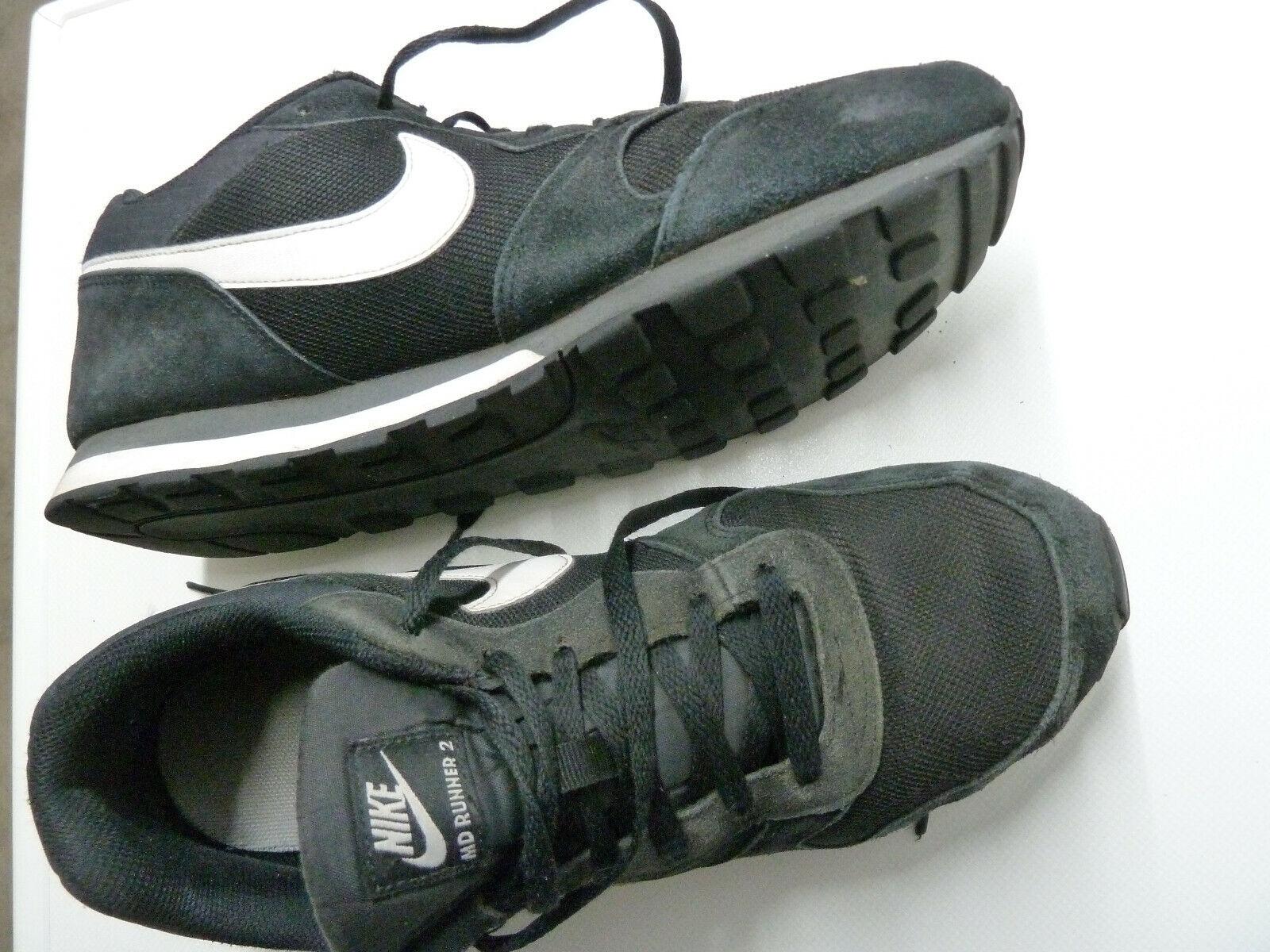 Nike MD Runner 2 Gr 45   US 11   29 cm Nike   749794-010 negro blancoo