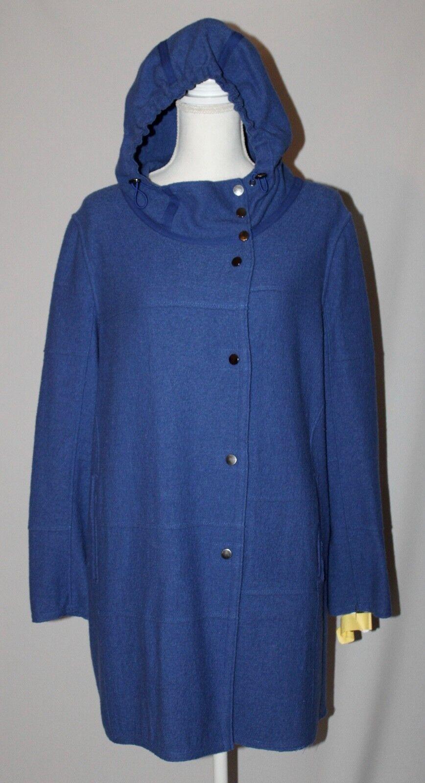 Kristen Blake Studio Sammlung Blau Wolle Langer Mantel Leicht Leicht Leicht GRÖSSE M Euc Fbb | Die Königin Der Qualität  | Genialität  | Großhandel  058031