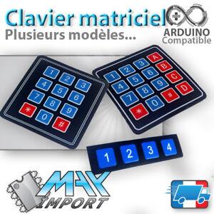 Module-Arduino-Clavier-matriciel-souple-Autocollant-Membrane-matrix-keypad