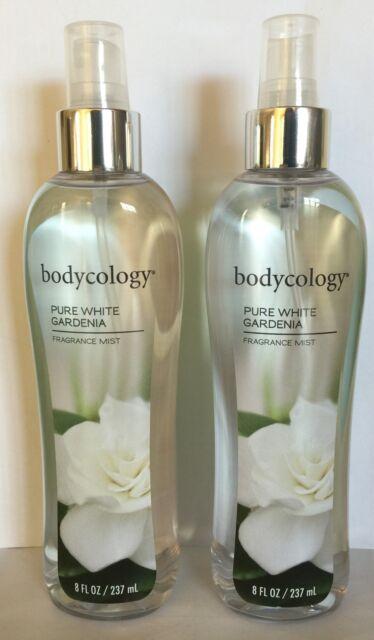 2 Bodycology Pure White Gardenia Fragrance Mist 8.oz EACH