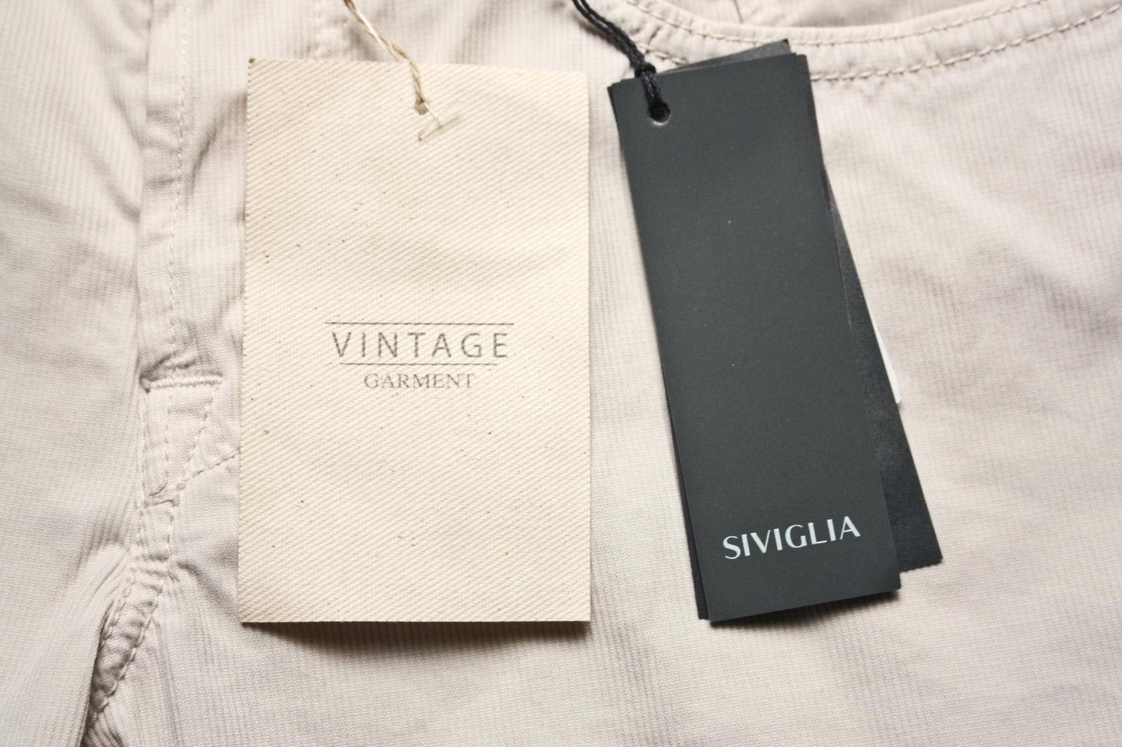 Pantaloni Siviglia Jeans Jeans Jeans Trouser Cotone Uomo Beige SP021U10045B018 S301 84a0e3