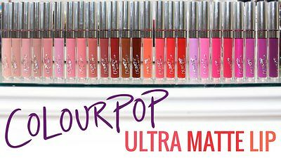 NEW COLOURPOP ULTRA MATTE LIQUID LIPSTICKS PICK YOUR COLOR SHADE FREE SHIPPING