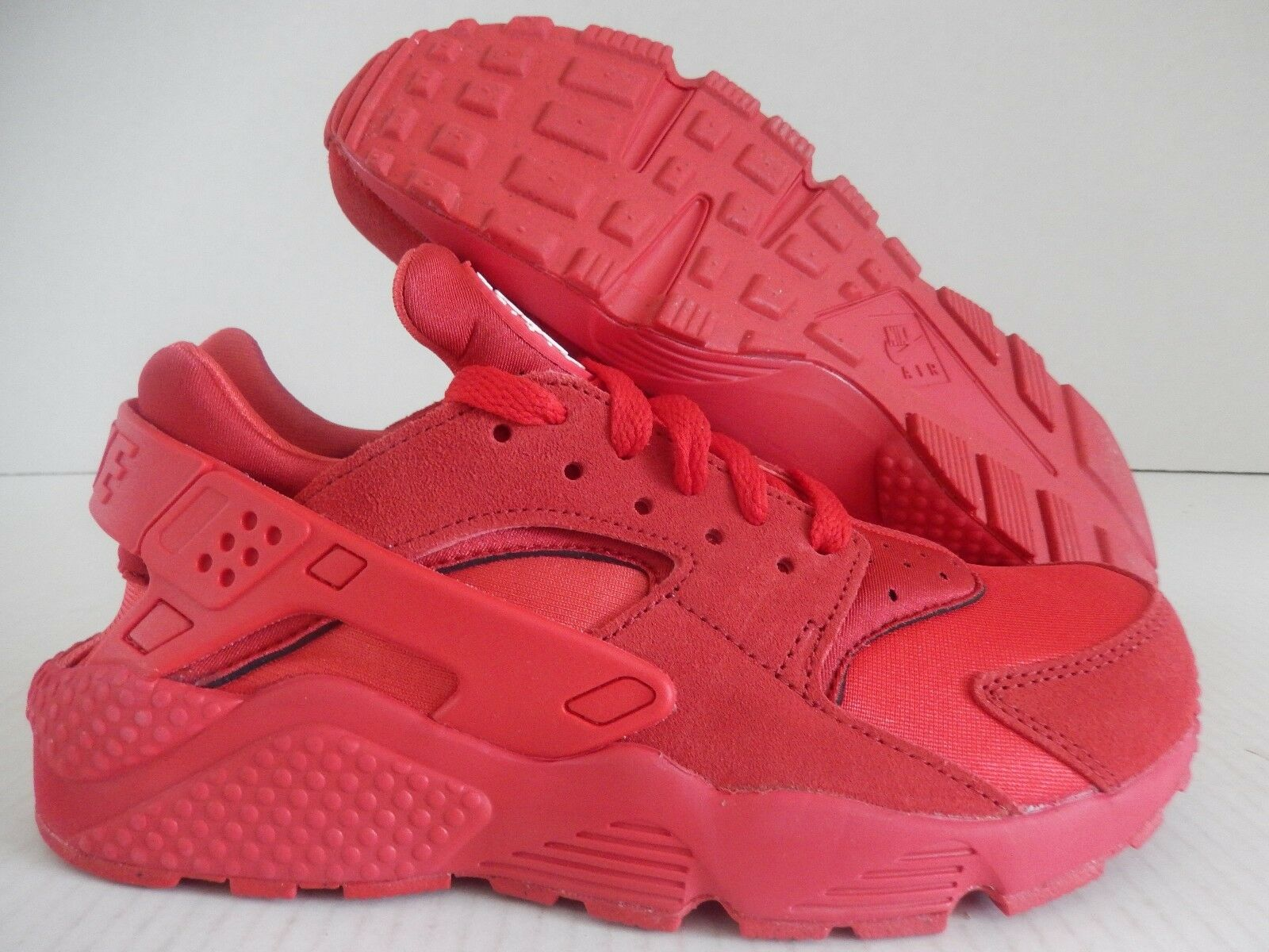 WMNS NIKE AIR HUARACHE ID RED-RED Price reduction Cheap women's shoes women's shoes
