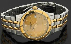 Raymond Weil Gold Tango Collection 5590 2-tone SS quartz men's watch