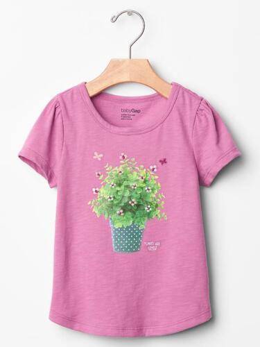 NWT Baby GAP Go Wild Tropic Adventures Flower Pot Tee Top U Pick Size NEW