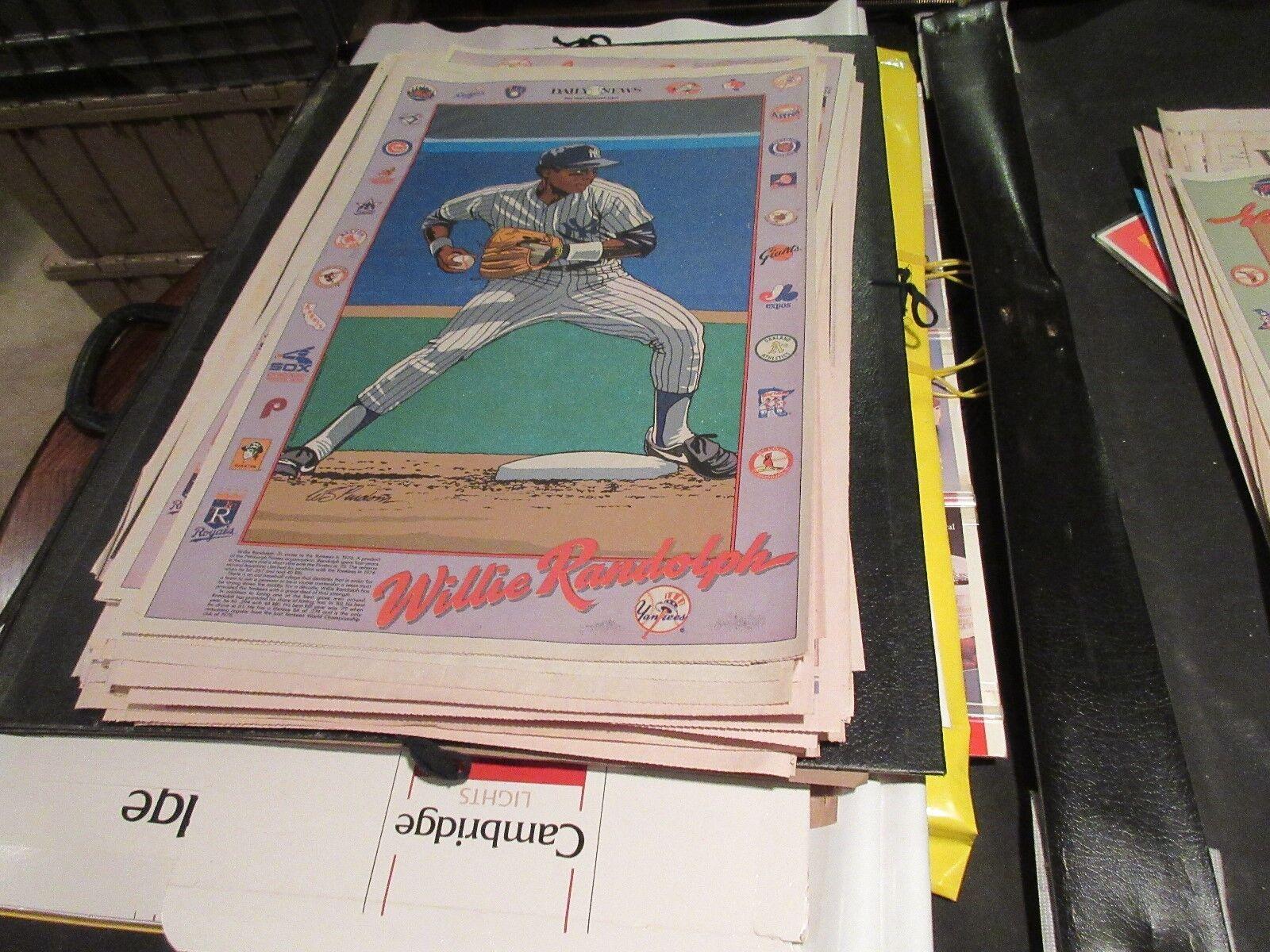 Willie Randolph , NY Yankees, NY Daily News ,Newspaper