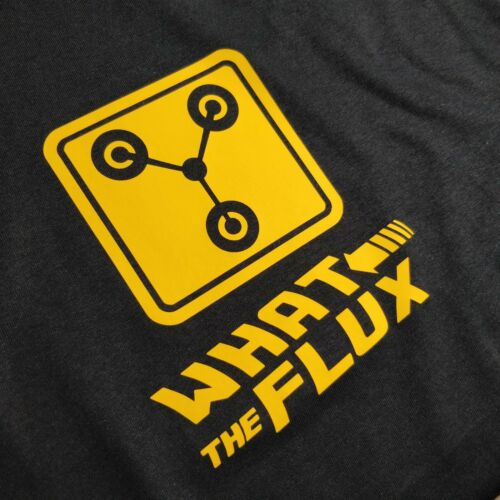Back to the Future inspired What the Flux Capacitor 80s Movie T-Shirt