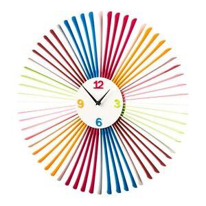 Wall-Clock-Multi-Coloured-Acrylic-Modren-Design-Brand-New