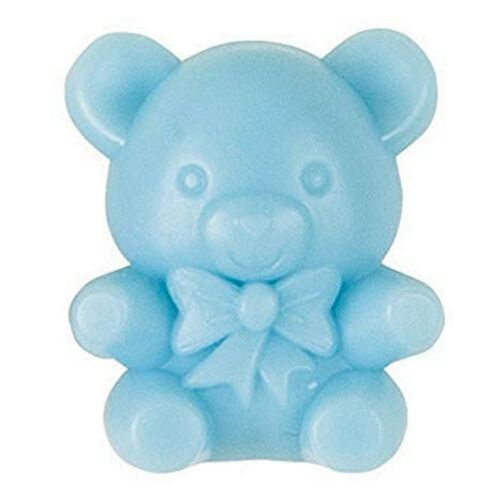 Blue Teddy Bear Table Charms 16 Pk Baby Shower Favours