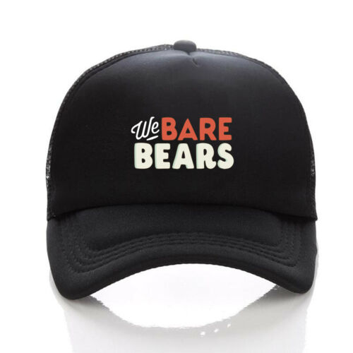 We Bare Bears hat Baseball Cosplay sunhat women men hat  sunhat  abjustable hat
