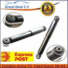 Holden Astra Rear GAS Shock Absorbers TS Sedan Coupe Hatchback Wagon 98-04 Pair