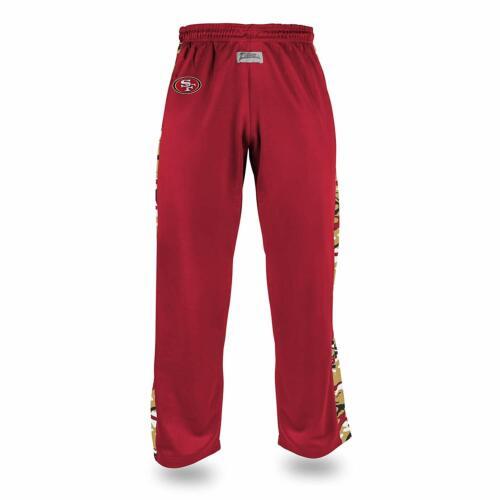 Zubaz Men/'s NFL San Francisco 49ers Camo Print Stadium Pants