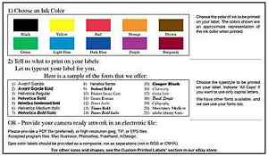 10 000 printed shipping labels custom mailing stickers 1 color 3