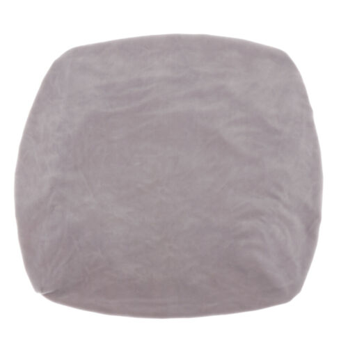 Velvet Stretch Chair Seat Cover Protector with Ties Office Chair Slipcover