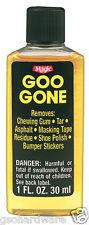 Goo Gone 1oz Citrus Solvent Cleaner Removes Stickers, Tape, Oil, Gum, Tar NEW!