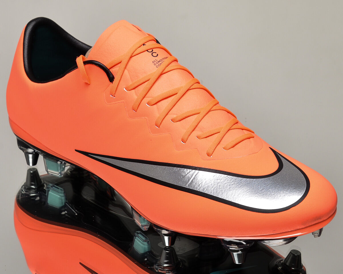 Nike Mercurial Vapor X SG-PRO men soccer cleats NEW 648555-803 last size 6 US