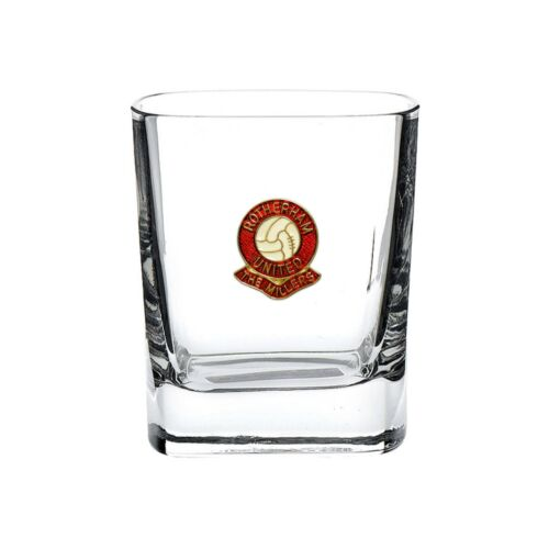 Rotherham United football club mixer glass