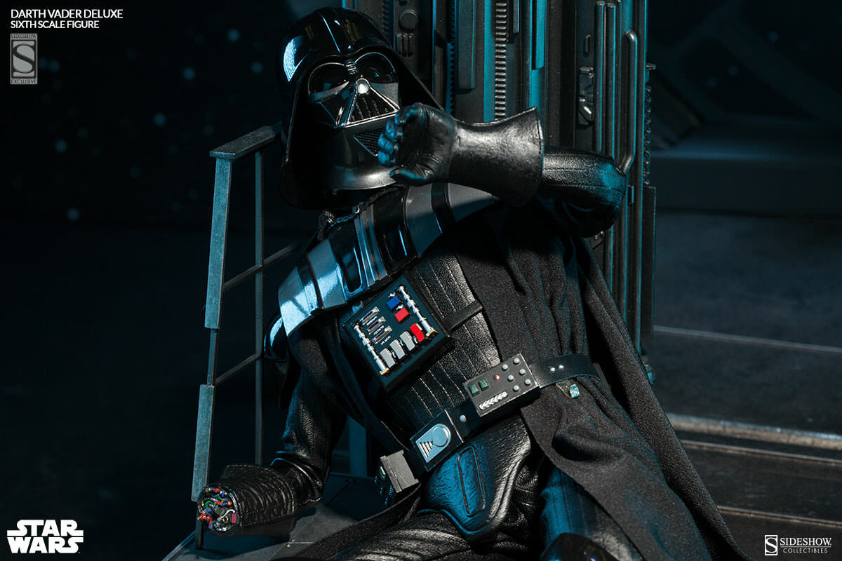SIDESHOW:EXCLUSIVE:STAR WARS Ep6 ROTJ-DARTH VADER DELUXE 1:6 Scale Figure on eBay thumbnail