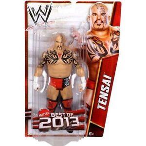 Tensai-WWE-Best-of-2013-Wrestling-Action-Figure-NIB-Mattel-NIP-WWF-Prince-Albert