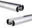 Barres de Toit pour Smart Forfour Hayon 04-06 130cm Aluminium 75kg AMOS