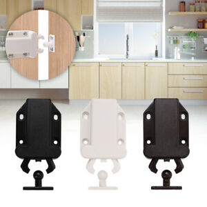 4 6 Push To Open Door Catch Kitchen Cabinet Touch Latch Release Drawer Cupboard Ebay