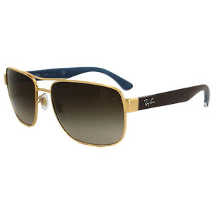 eb4dedd7e45 Ray-Ban Sunglasses 3530 001 13 Gold   Brown Brown Gradient ...