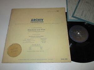 LP-MANNHEIM-amp-WIEN-JMOZART-GORVIN-MUSIKALISCHE-SCHLITTENFAHRT-Archiv-14084-APM