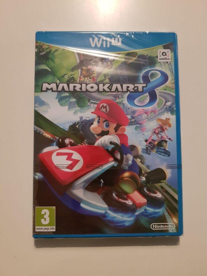 (Nyt i folie) MarioKart 8, Nintendo Wii U