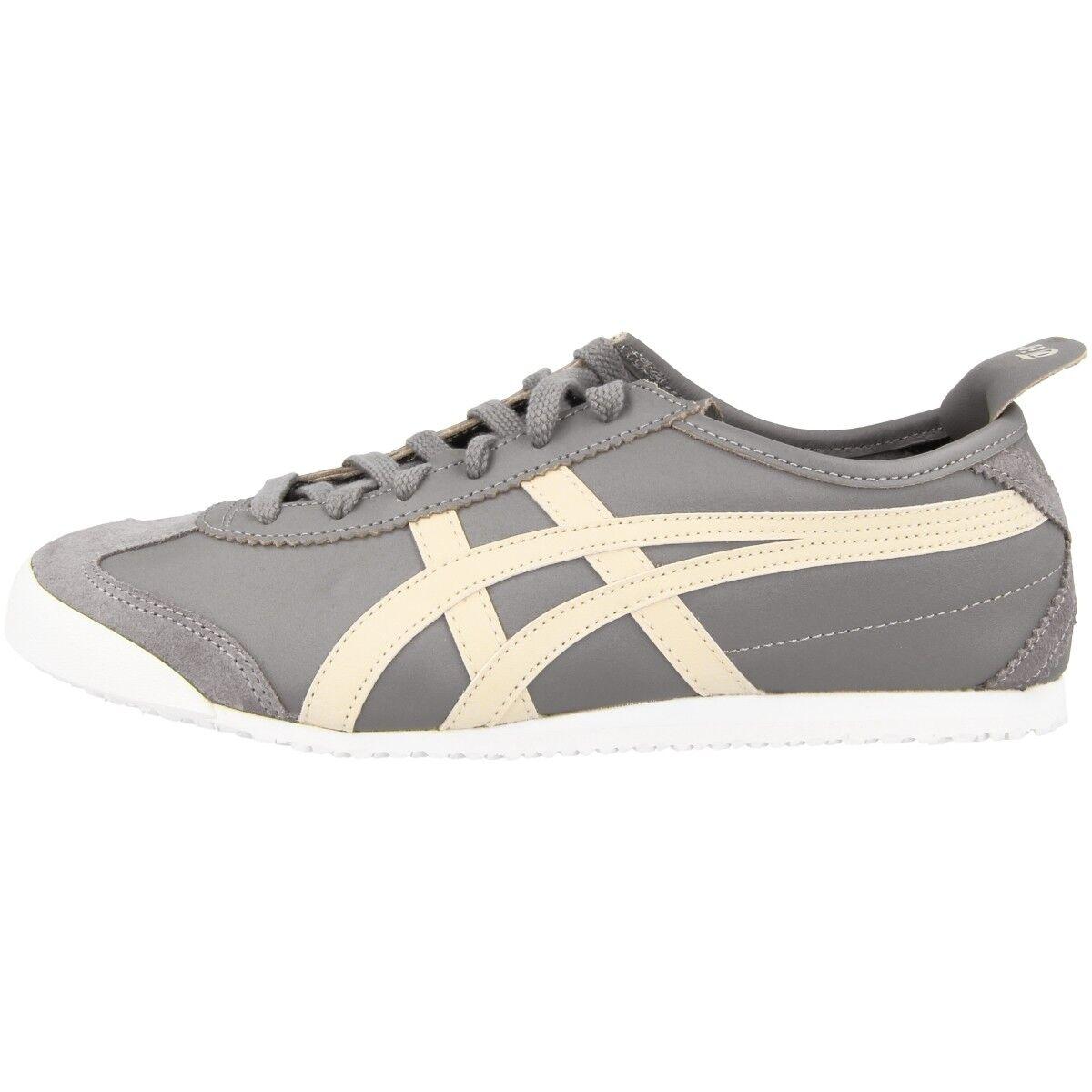 Asics Onitsuka Tiger méxico 66 zapatos retro cortos aluminio Birch d4j2l-9602