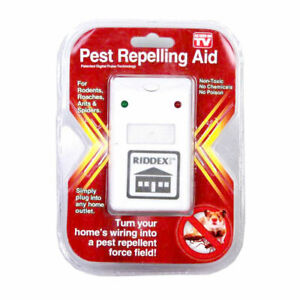 2 Riddex Plus Pest Repellent as seen on tv aid for rodent roaches ants