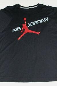 Dettagli su Men's new Air Jordan Jumpman T Tee Shirt Black XL 24.5 x 30 XL