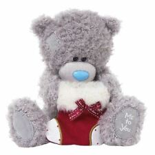"Me to You - 8"" With Christmas Stocking - Tatty Teddy Plush Xmas"