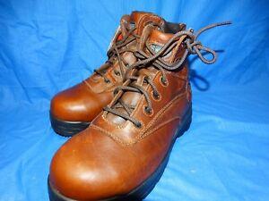 NEW Mens Rockport Works Safety RK668 Composite Toe Work Boots ~ 8 M ~ EH Hazard