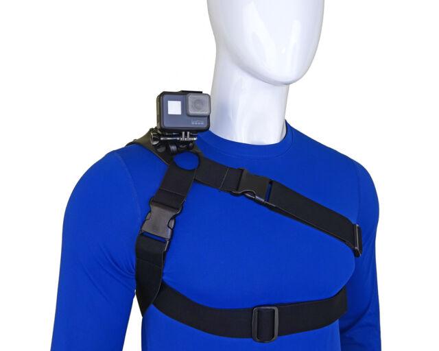 Stuntman 360-Schulter Halterung für GoPro und andere Action Kameras