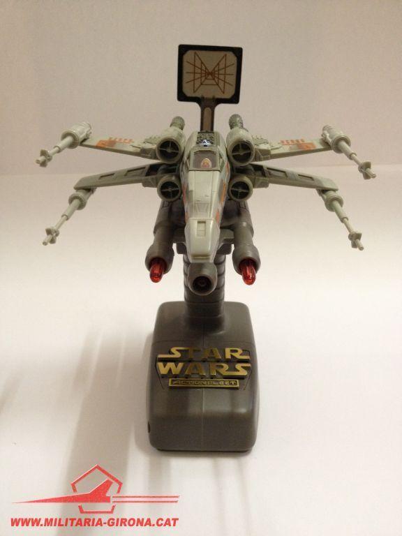 STAR WARS ACTION Flotte X-WING ROT 5 FLIGHT Regler COMPLETE 1995 Luke & R2D2