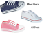 KIDS CHILDREN BOYS GIRLS CANVAS CASUAL SHOES TRAINERS LACE UP PLIMSOLLS 3 COLORS
