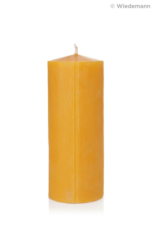 4x Bienenwachs Kerze 20x8cm 100% Bienenwachskerze in RAL Topqualität Wiedemann