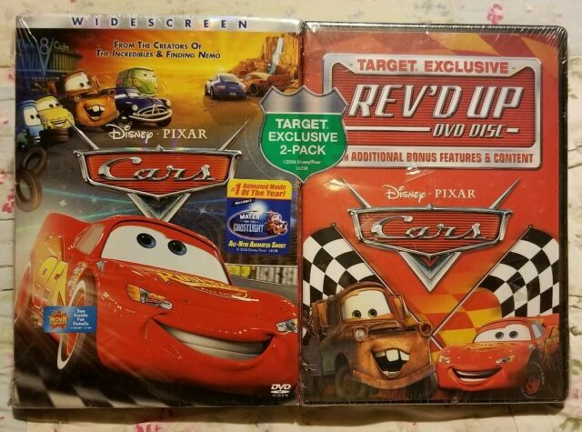 New Rare Disney Cars And Rev D Up Dvd 2 Movie Set Sealed Target