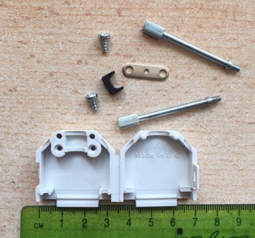 9 WAY IN PLASTICA D GUSCIO COPERCHIO CON VITI LUNGHE 38 mm Confezione da 5 Z1408