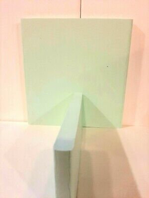 "HDPE Plastic Sheet 3//4/"" x 9.5/"" x 12/"" Key Lime"