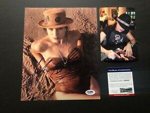 JENNIFER TILLY SIGNED 11X14 PHOTO PSA/DNA W23831 SEXY HOT