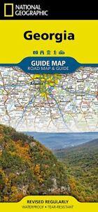 National Geographic GA Georgia Road / Travel / Waterproof Guide Map