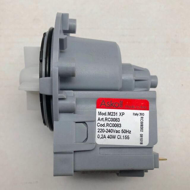 Genuine Samsung Washing Machine Water Drain Pump J1055 J1055IW/XSA J1055IW1/XSA