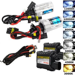 55W-HID-Xenon-Headlight-Conversion-KIT-Bulbs-H1-H3-H4-H7-H11-9005-9006-880-881