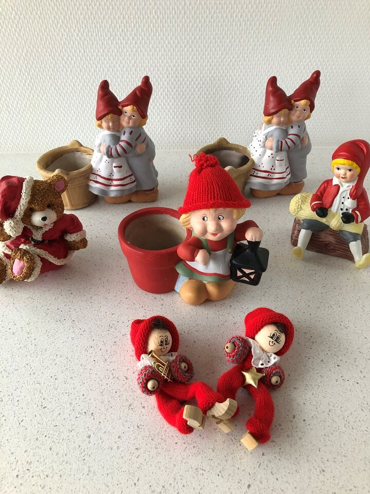 Forskellige jule figur