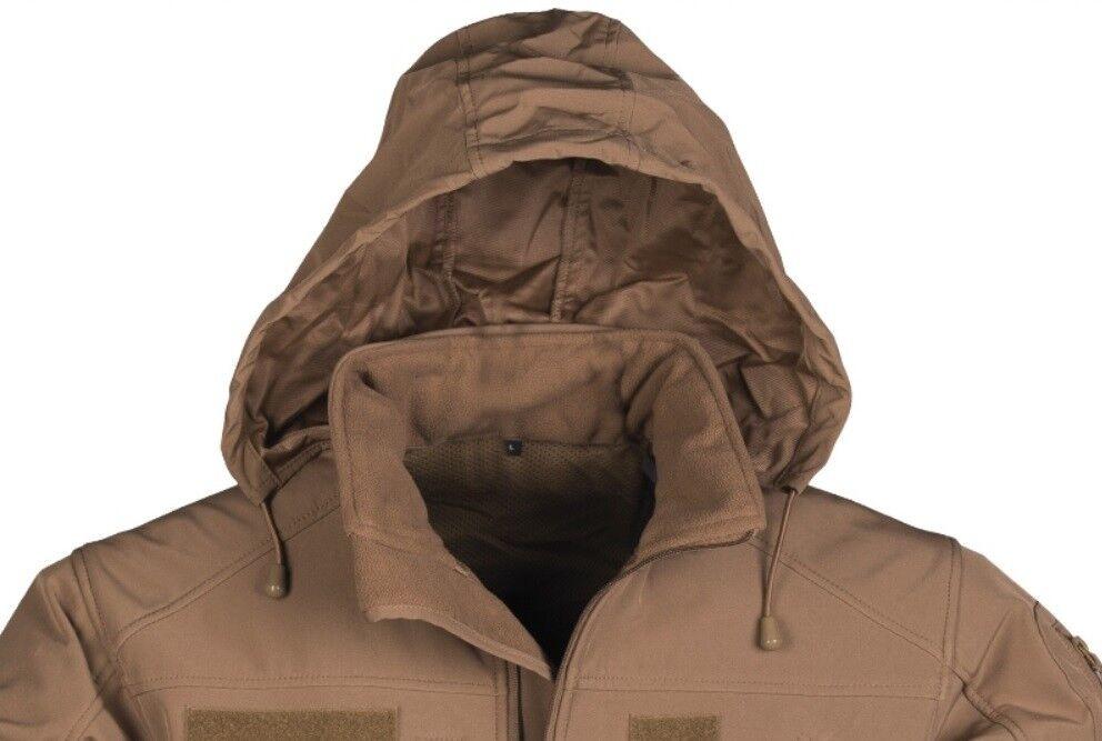 SOFTSHELL Fleecejacke Outdoor Outdoor Outdoor JACKE SCU 14 Army Dark coyote aa4903